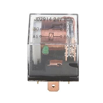 Amazon.com: Jili Online Car Electronic Alarm Light Air Horn ...