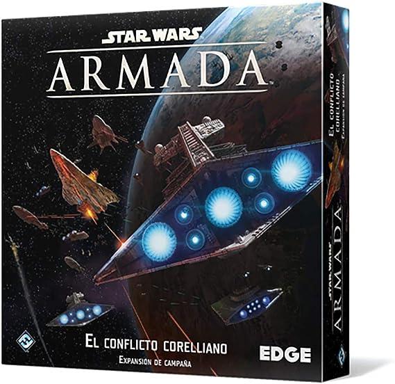 Fantasy Flight Games Star Wars Armada: El conflicto corelliano-Español, Color (FFSWM25): Amazon.es: Juguetes y juegos