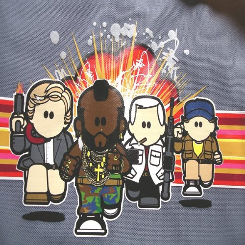 Borsa a Tracolla A-Team Mr T da Palestra Retro