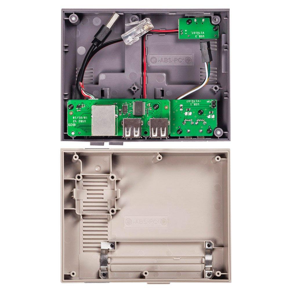 Optimal Shop NESPi Case+,Retroflag NESPi Case+ Plus Functional Power button with Safe Shutdown for Raspberry Pi 3 B+ (B Plus) by Optimal Shop (Image #4)