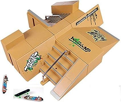 DIY Finger Skateboard Site Skate Park Ramp Parts Finger Board Site Ultimate