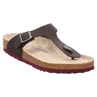 9dfde29eaf Birkenstock Gizeh Birko Flor Soft Footbed Sandals 10 B(M) US Women   8