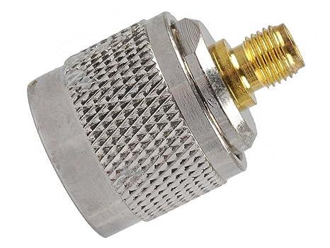KENMAX - Adaptador de Cable coaxial RF Jack N Macho a SMA ...