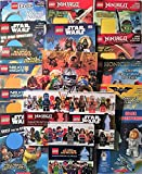 Lego Library 17 Book Set including 12 Activity Books and 5 Hardcover Books including Star Wars, Ninjago & DC Super Heroes