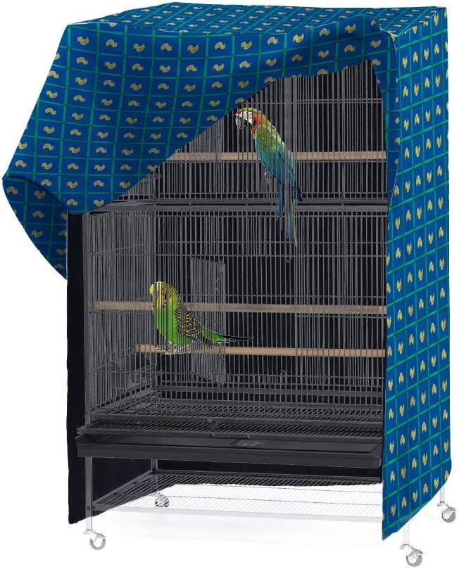 Pet Products Funda para Jaula de pájaros de Buena Noche, se Adapta a la mayoría de jaulas de 35 Pulgadas para Mascotas. Fácil de Poner, Quitar y Ajustar – Solo Funda