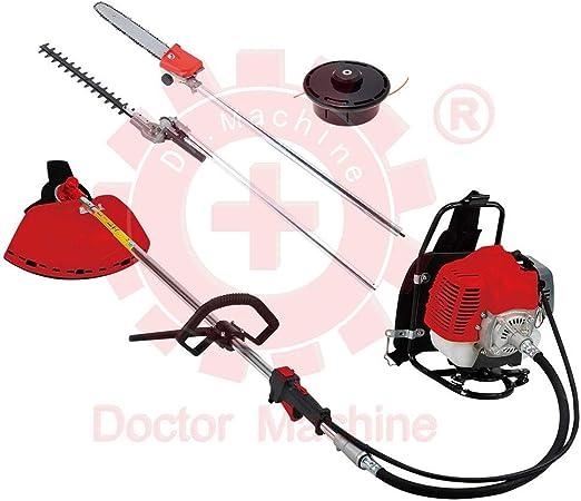 Doctor Machine Dm0006 - Desbrozadora multifunción 4 en 1 con ...