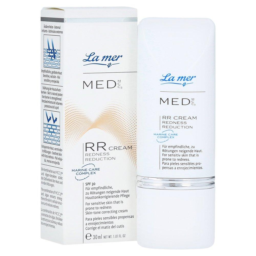 La Mer Med Rr Cream Redness Reduction 30 Ml Creme De 100ml Drogerie Krperpflege