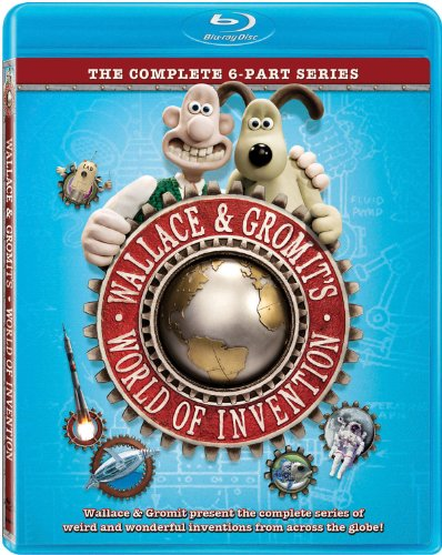 Wallace & Gromit's World Of Invention [Blu-ray]