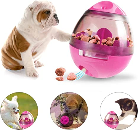 Abree Dispensador de Bolas para Perros Juguete Interactivo para ...
