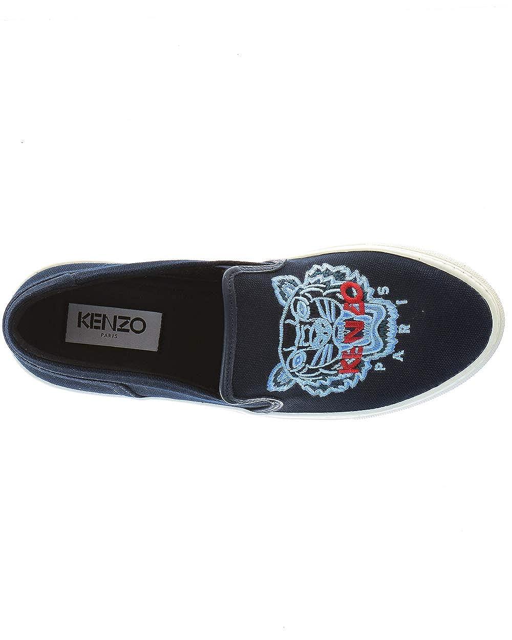 Kenzo Scarpe Donna F862SN100F70 Blu K Skate Sneakers 36