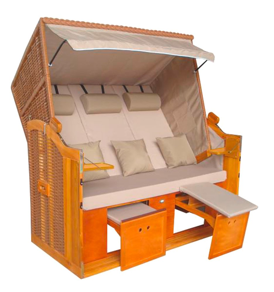 gro er xxl strandkorb 39 r gen 39 3 sitzer bestellen. Black Bedroom Furniture Sets. Home Design Ideas