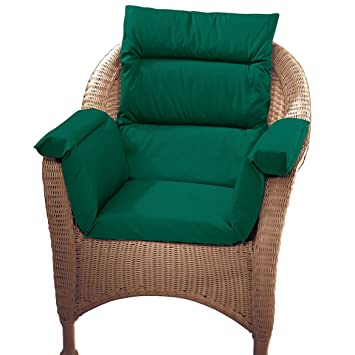 amazon com pressure reducing chair cushion hunter green