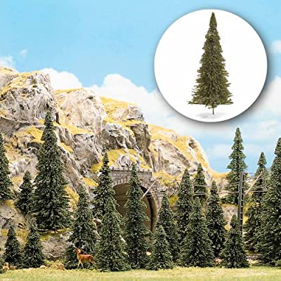 Busch 6571 Pine Tree Set 30/N Scale Scenery Kit: Toys & Games