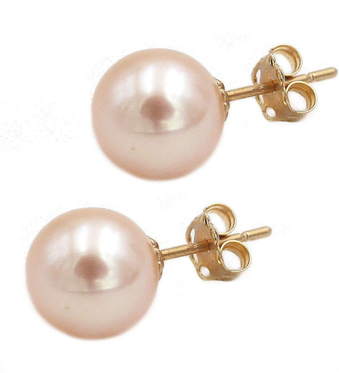 Mädchen Taufe Kommunion Süßwasser Zucht Perlen Set Ohrringe Kette Silber 925