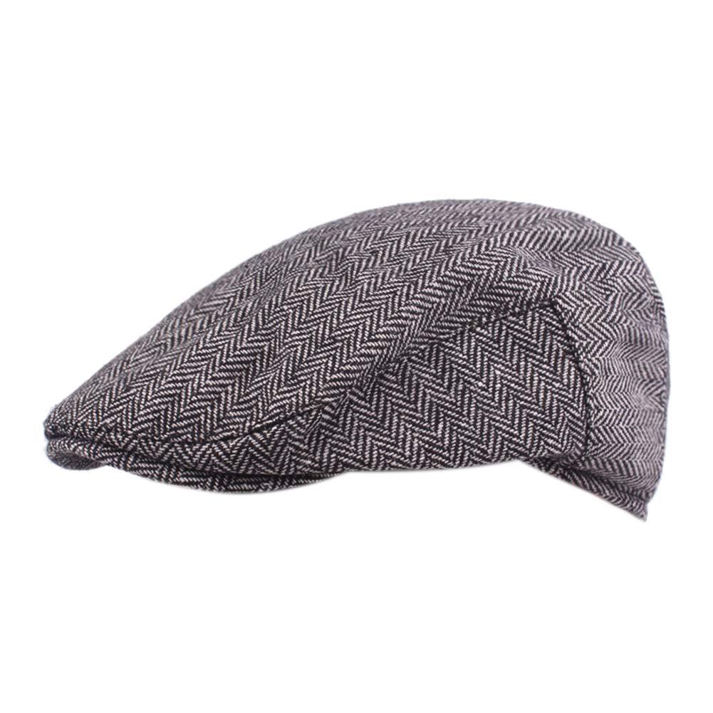 Anshili Hombres Casquillo Boinas Beret Sombreros para Invierno