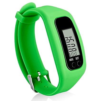 Amazon.com: Bomxy - Reloj de pulsera para fitness, podómetro ...
