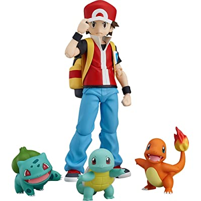 Good Smile Pokémon: figma Red Action Figure: Toys & Games
