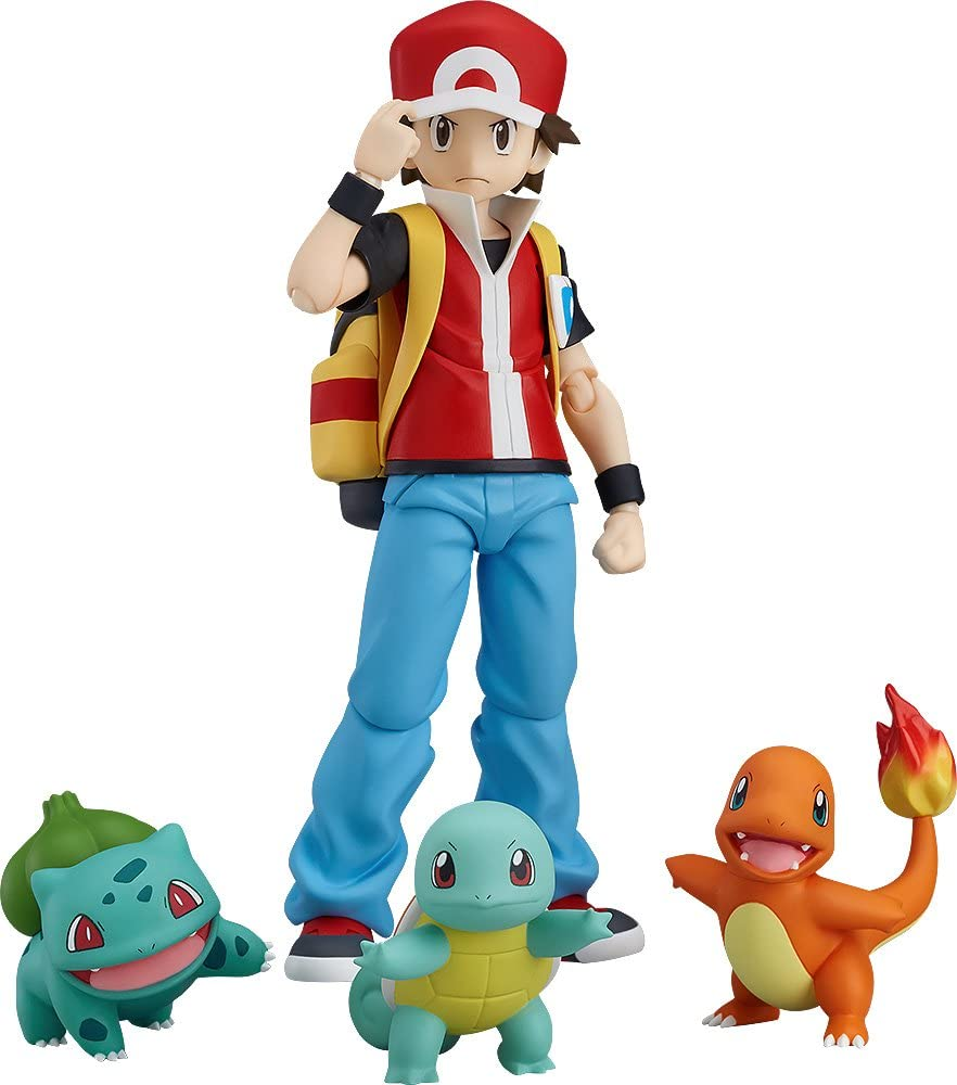 Good Smile Pokémon: figma Red Action Figure