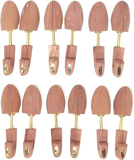 Cedar Elements Little Wholesale Program M 6 Pairs Split-Toe Cedar Shoe Trees