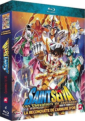 Saint Seiya - Les chevaliers du Zodiaque, la qute de l'armure d'or - pisodes 1  35 [Blu-ray]
