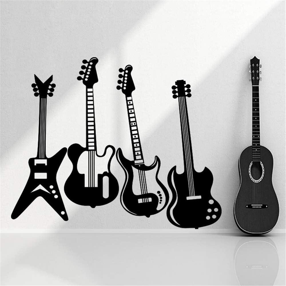 pegatinas de pared navidad guitarras eléctricas rock n roll para ...