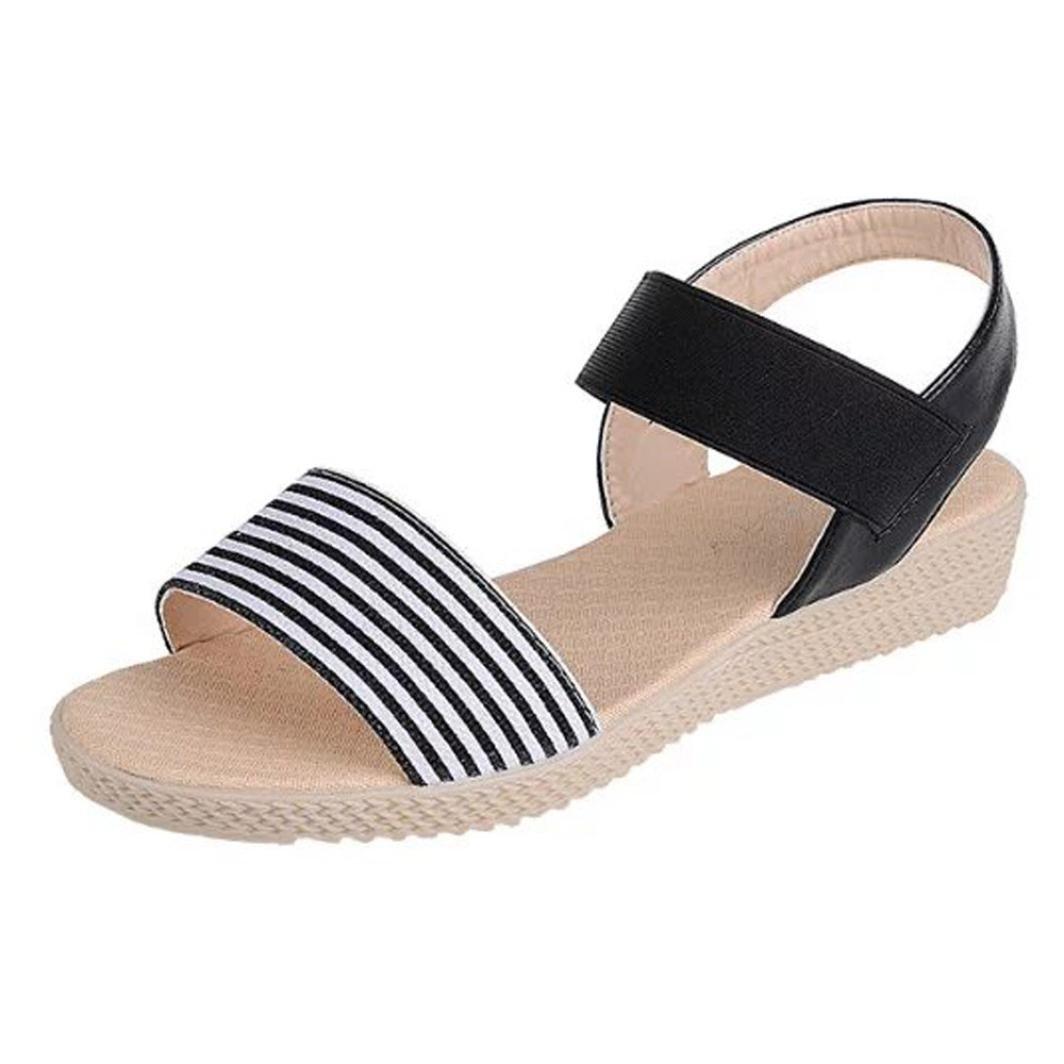 Koly_Scarpe Donna banda di estate Boemia dolci dei sandali della punta  della clip sandali della spiaggia: Amazon.it: Scarpe e borse