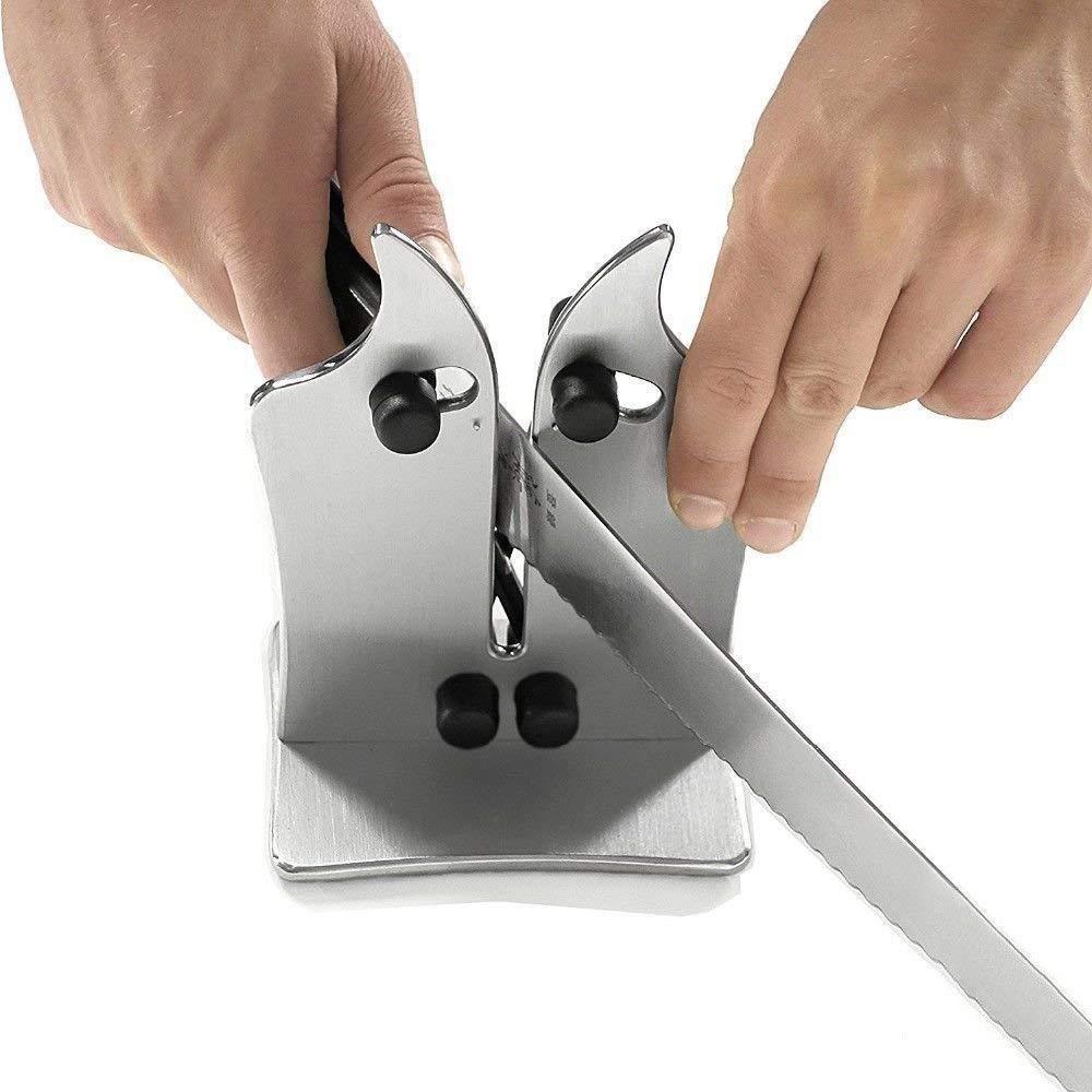 Afilador para cuchillos lisos y de sierra, Acero de ...