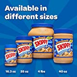 SKIPPY Super Chunk Peanut Butter, 40 oz