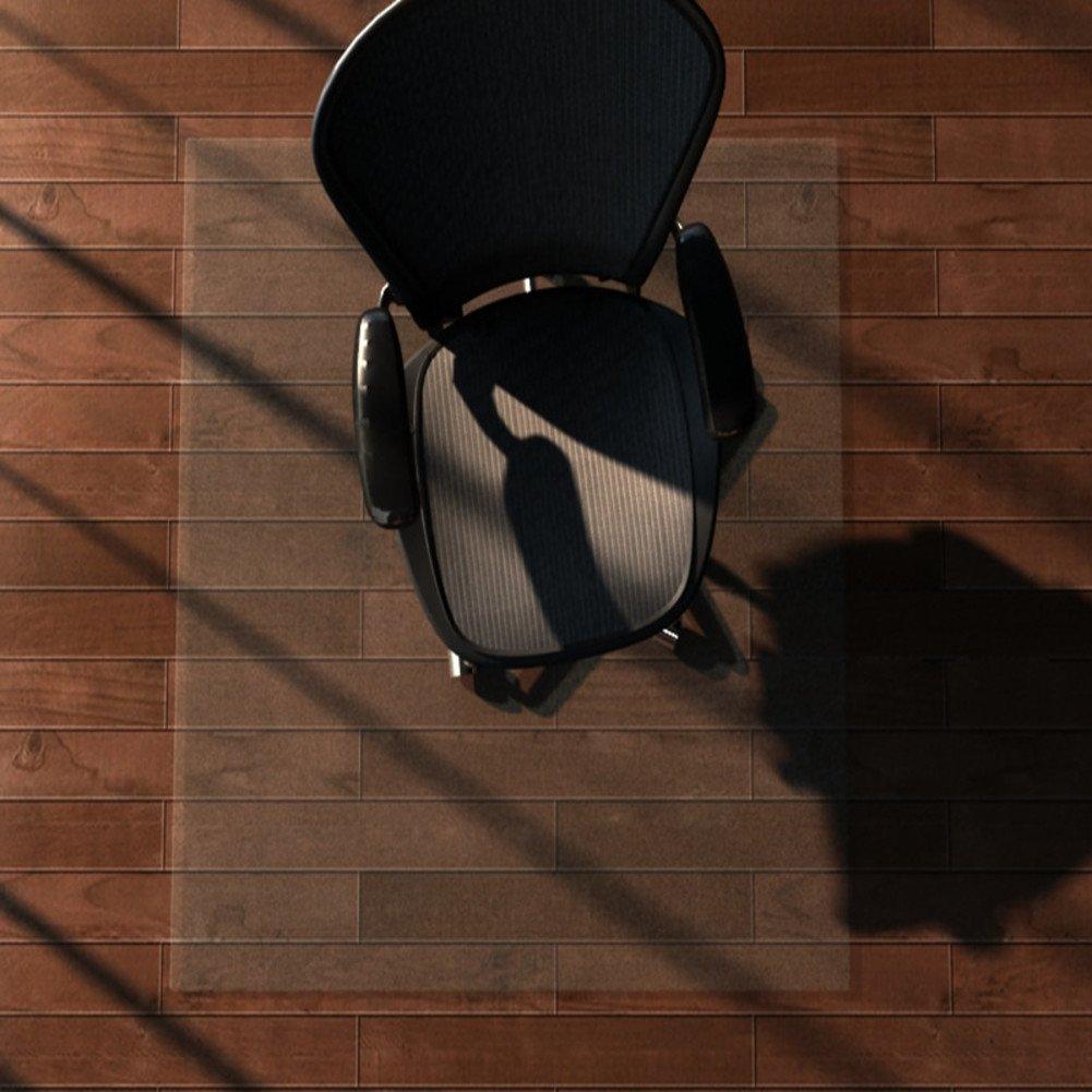 Déco Tapis en PVC transparent Pad Tatami Tapis de coussin de chaise de bureau Desk Tapis de protection de sol en