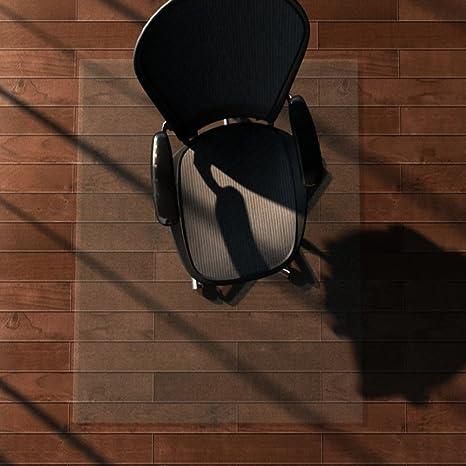 Decorativo Alfombra PVC Transparente Pad Tatami Ordenador Silla cojín para Suelo de Madera Protección Alfombrillas Almohadilla