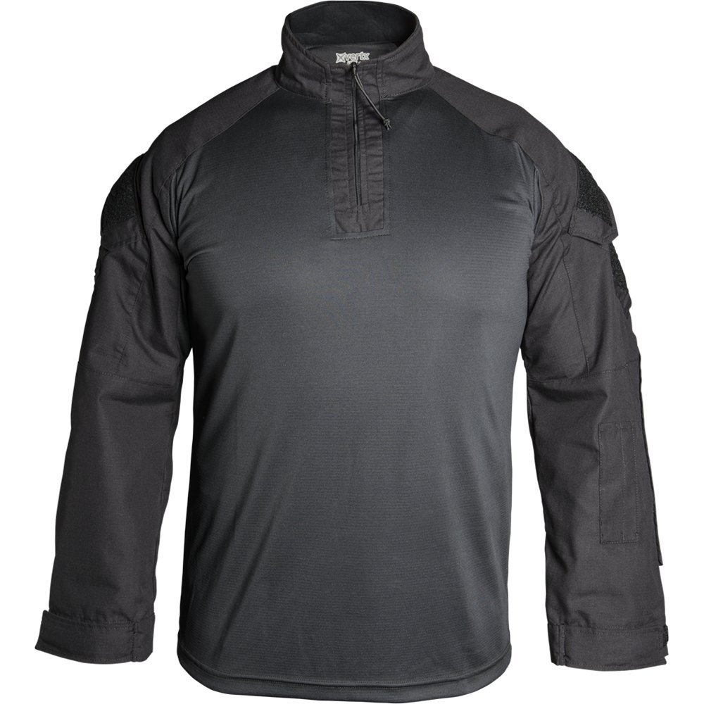 ed2ea64b20e118 Amazon.com: Vertx Men's Large Recon Combat Long Sleeves Shirt, Black:  Sports & Outdoors