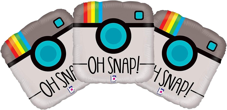Set of 3 Oh Snap! Rainbow Camera 18