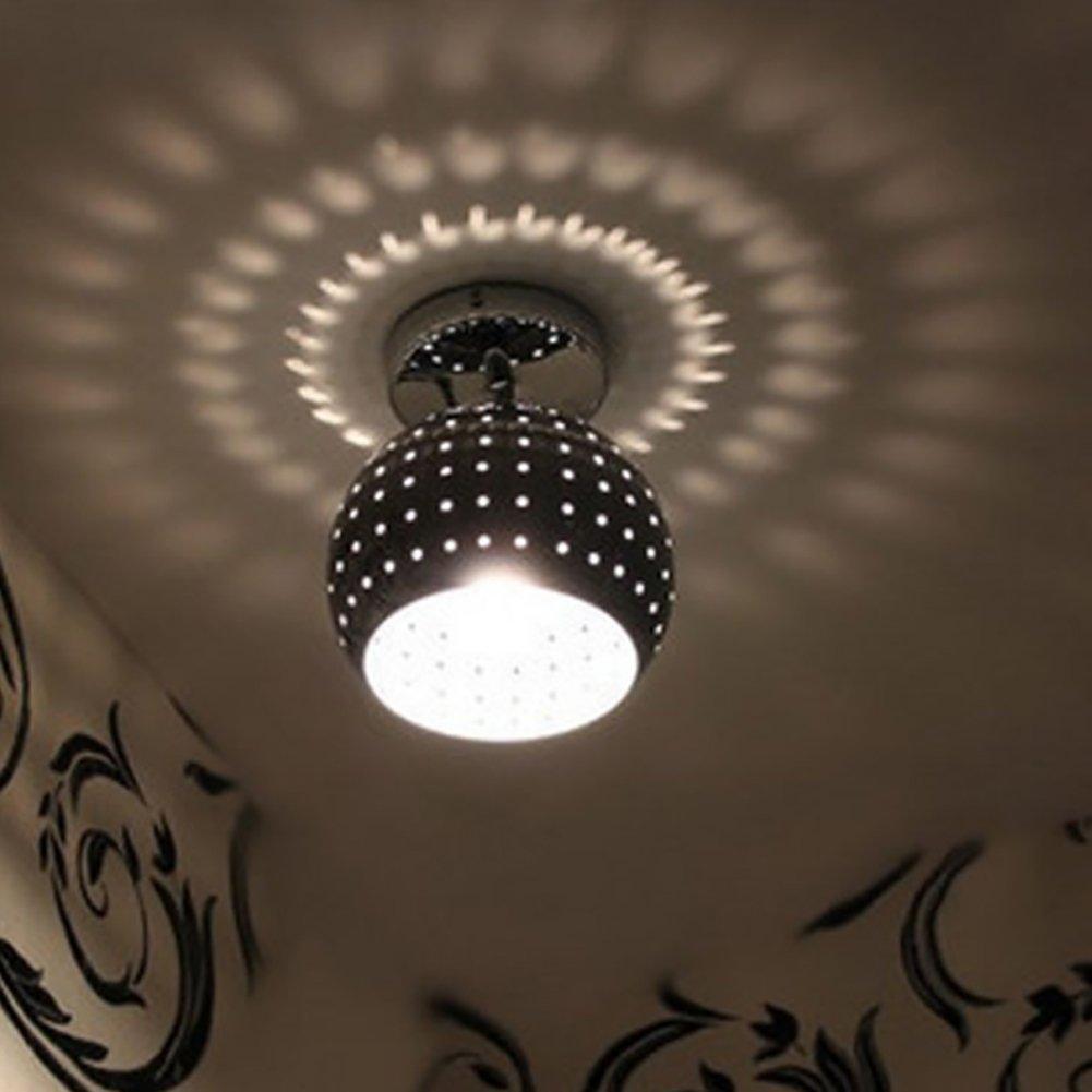 Lampade da soffitto moderne in ferro Luci riflettenti belle corridoio Lampadari