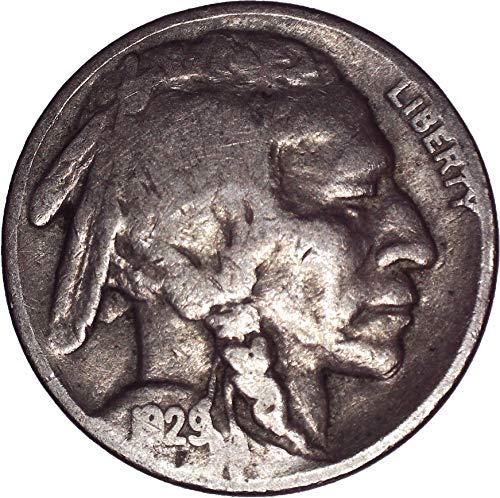 1929 Buffalo Nickel 5C Very Fine ()