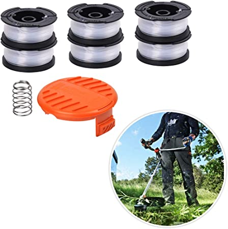 9Pack Replacement Spool Line Black Decker String Trimmer Parts Weed Eater Edger