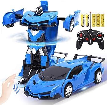 AMEOW Transform and Gesture Sensing Robot