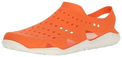 5e7ffd0c4d47 crocs Swiftwater Wave Men Shoe in Orange  Buy Online at Low Prices ...