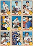 Chicago Cubs 2017 Topps Heritage Series 22 Card Team Set with Kris Bryant, Anthony Rizzo and 2016 World Series Highlight Cards
