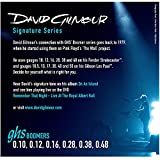 GHS Strings GB-DGF David Gilmour Signature Series, Nickel-Plated Electric Guitar Strings (.010-.048)