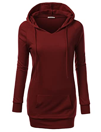 J.TOMSON Women's Pullover Hoodie XS-4XL (18 Colors) at Amazon ...