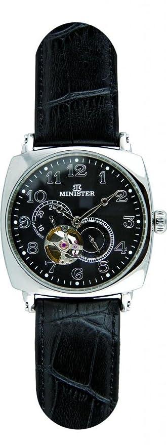 Minister automatico-8720 Reloj hombre de pulsera automatico-: Amazon.es: Relojes