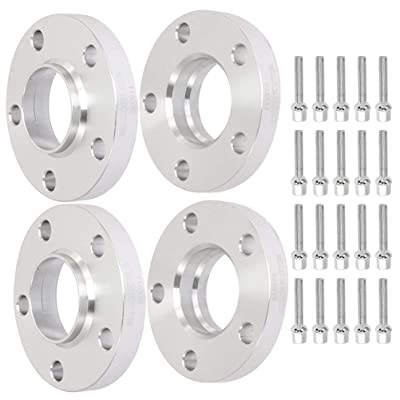 TUPARTS 4X 5x112 to 5x112 Hub Centric Wheel Spacers 20mm 5 Lug Compatible with Mercedes Benz C230 C240 C320 C32 AMG 66.6mm W/10 Lug Bolts 12x1.5: Automotive