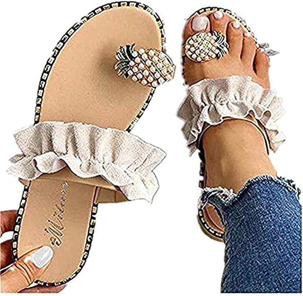 Sandals for Women Flat, Sweet Cute