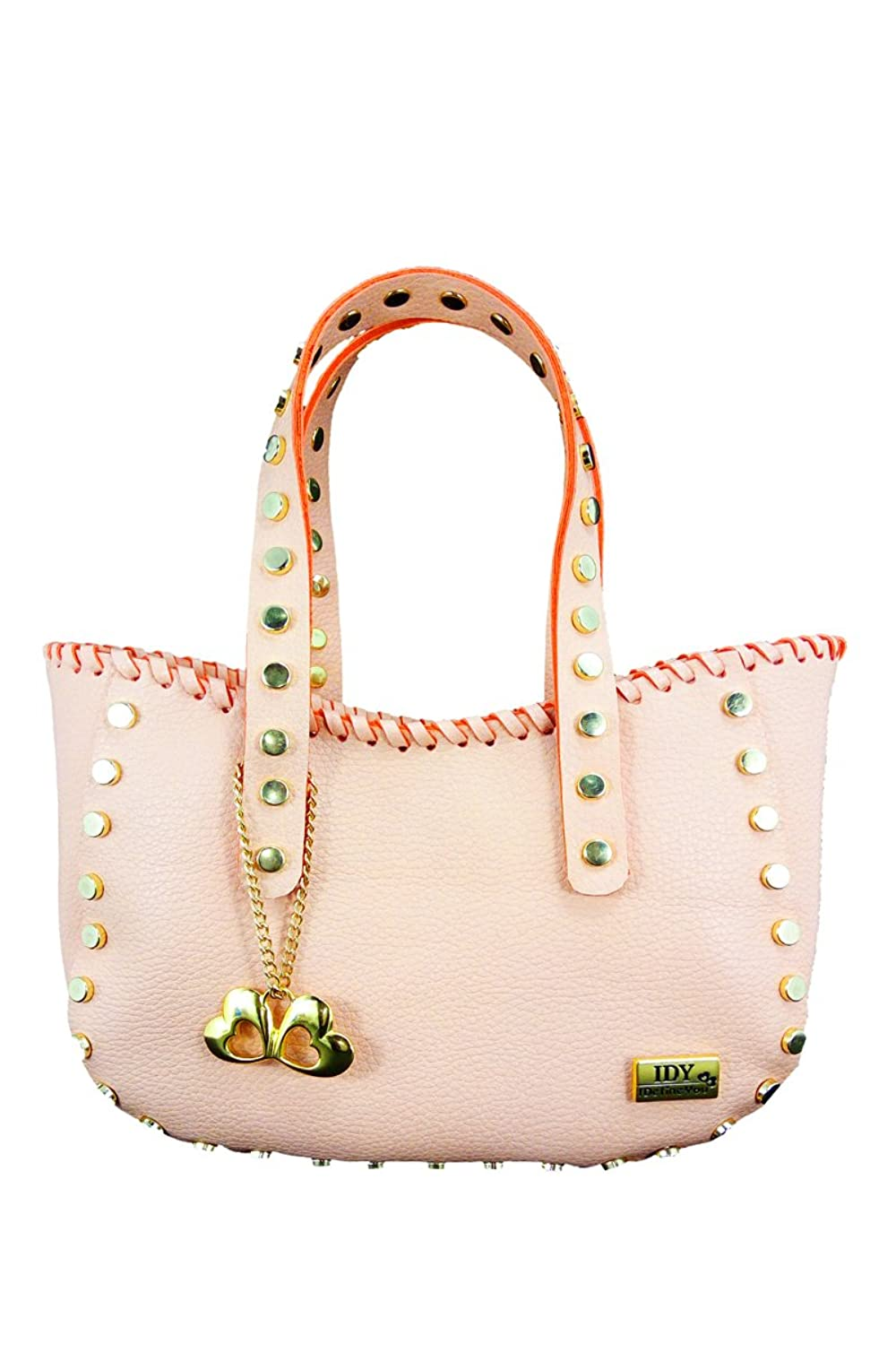 Anglopanglo Peach Color Women's Shoulder Bag