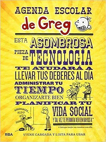 Agenda escolar de Greg by Jeff Kinney(2014-06-12): Amazon.es ...