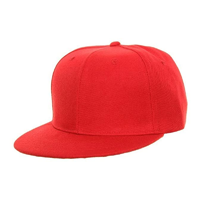 Snapbacks - Cappellino da baseball - Uomo Rosso rosso  Amazon.it   Abbigliamento 8a494bf2cb7d