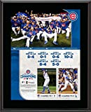 "Chicago Cubs 2016 MLB National League Champions 10.5"" x 13"" Sublimated Plaque - MLB Team Plaques and Collages"