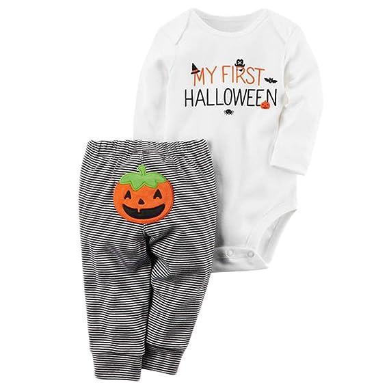 Disfraz Halloween Bebe Disfraces de Calabaza para Bebés Infantiles ...