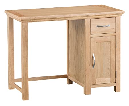 The Furniture Outlet Nuevo Sherwood Roble Solo Pedestal Escritorio ...