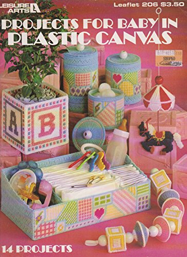 Projects for Baby in Plastic Canvas (Leisure Arts Leaflet 206)